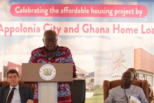 President Akufo-Addo's visit to Appolonia City