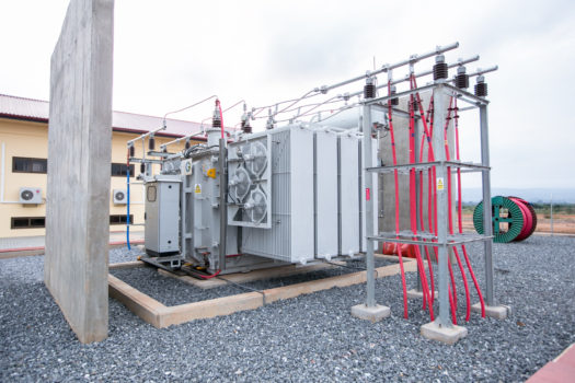 Substation commissioning