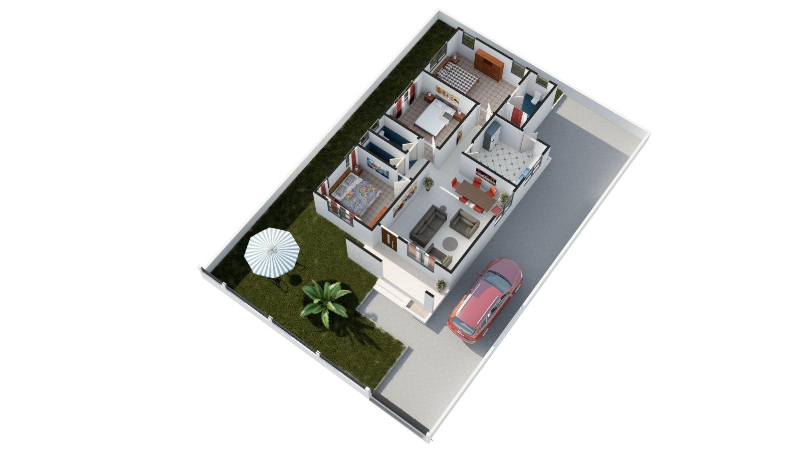 Appolonia City Oxford Barton - First Level plan