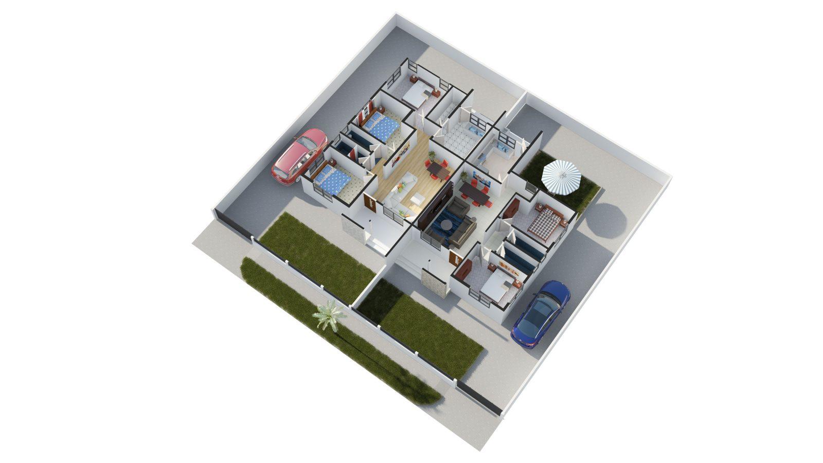 The Walton - Floor Plan