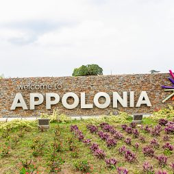 Beautiful Flowers at Appolonia City Entrance