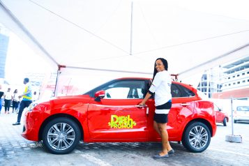 MegaDash photo with car