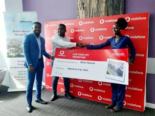 Vodafone winner wins plot at Appolonia City